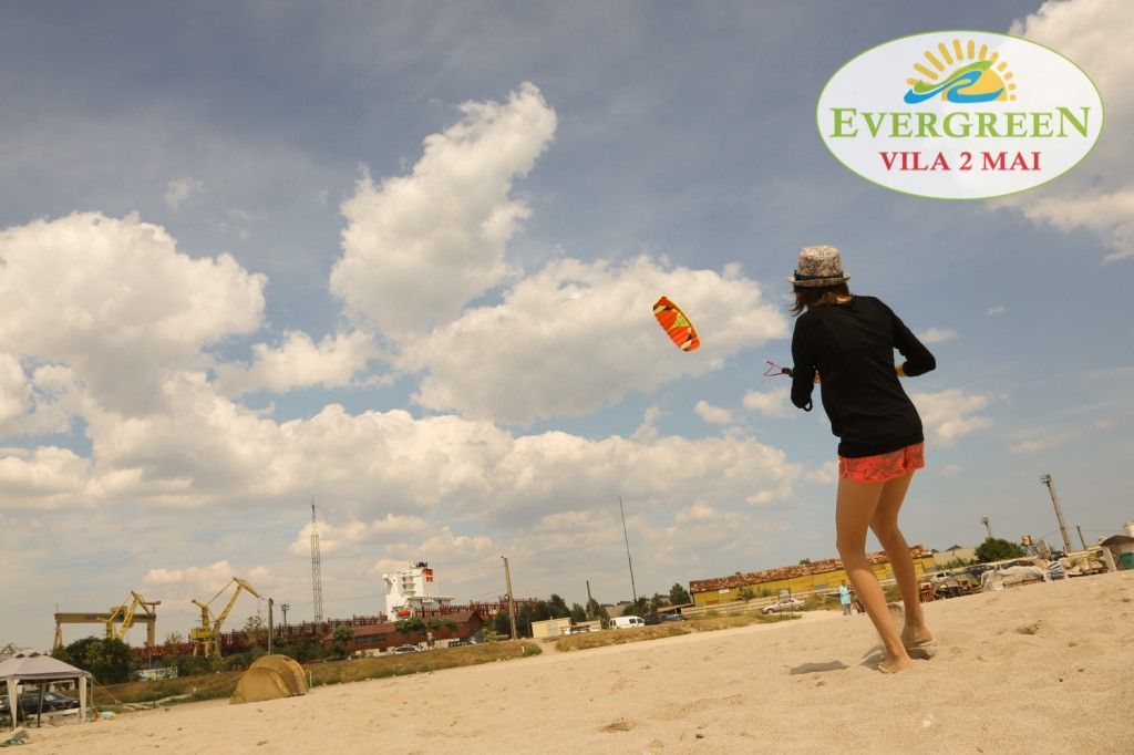 Plaja 2 Mai kitesurfing windsurfing