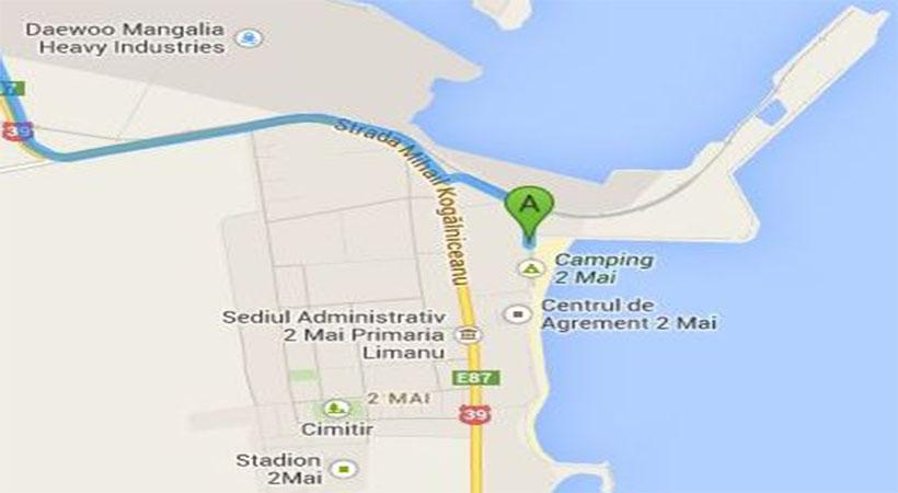 Harta acces Vila 2 Mai