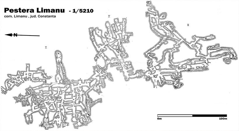 harta pestera Limanu