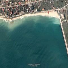 Golful 2 Mai vazut din satelit