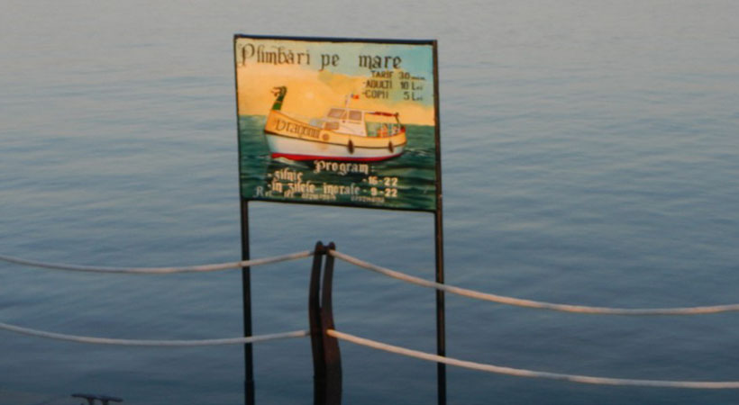 plimbari barca Marea Neagra
