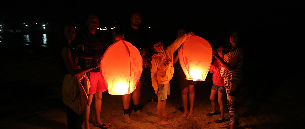 Lampioane - seara pe plaja 2 Mai